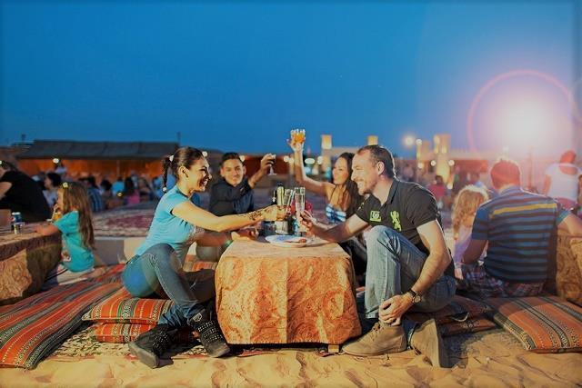 두바이 사막 사파리
